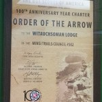 100th Anniversary Lodge Charter